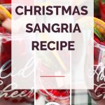 Christmas Sangria Collage