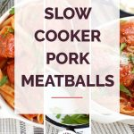 Pork Meatballs Collage 2
