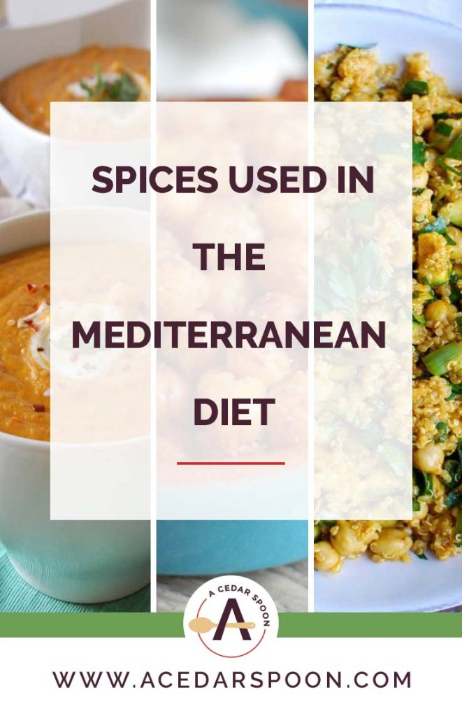 Mediterranean Spices with soup