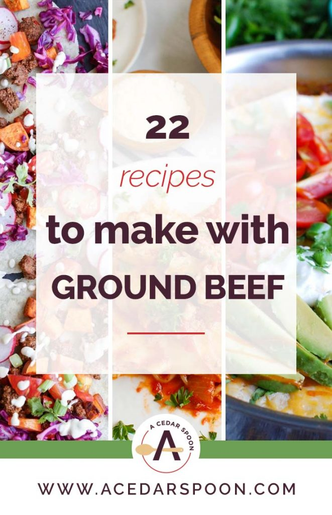 22 Recipes to Make with Ground Beef Collage