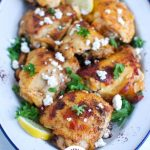Mediterranean Chicken with lemon