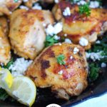 Mediterranean Chicken in Skillet