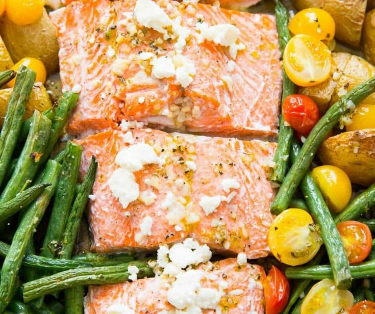 Mediterranean Salmon (Sheet Pan)