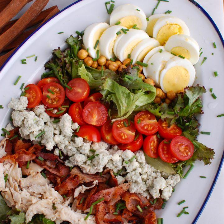 Cobb Salad with eggs