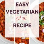 Vegetarian Chili Recipe with Logo 1