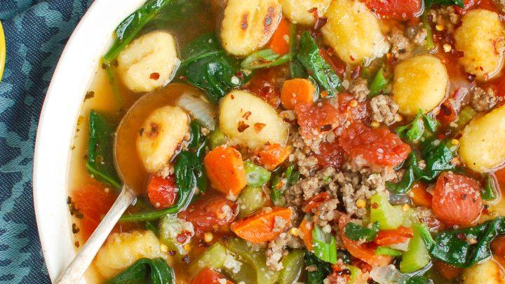 Easy Gnocchi Soup