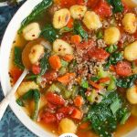 Easy Gnocchi Soup with Logo