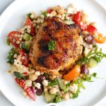 Grilled Chicken Thighs with Greek Marinade with Logo 2