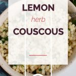 Lemon Herb Couscous with Logo 1