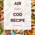 Air Fryer Cod with logo