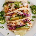 Easy Cod Fish Tacos Collage 1