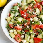 Tomato and Cucumber Salad with Capers