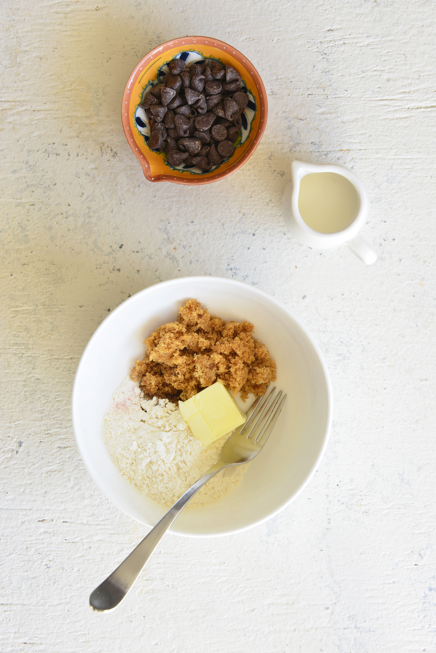 Edible Cookie Dough for One Step 1