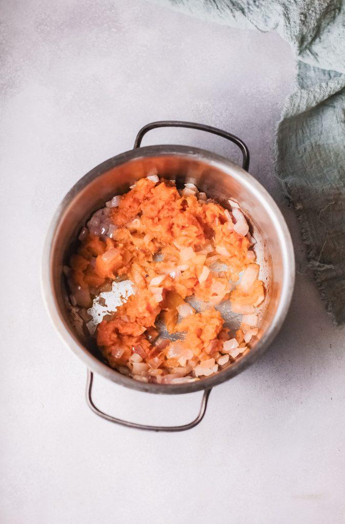 Pumpkin Ravioli with pumpkin
