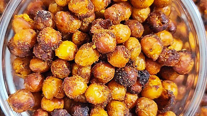 Air Fryer Chickpeas in bowl