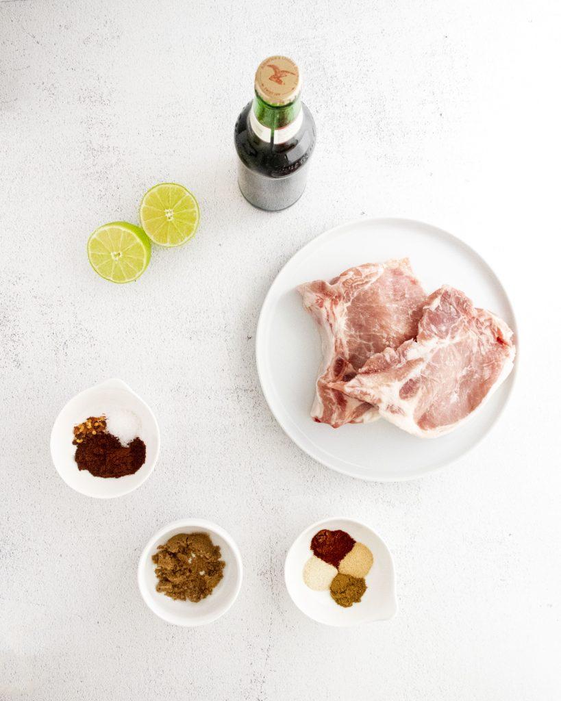 Instant Pot Carnitas Recipe ingredients