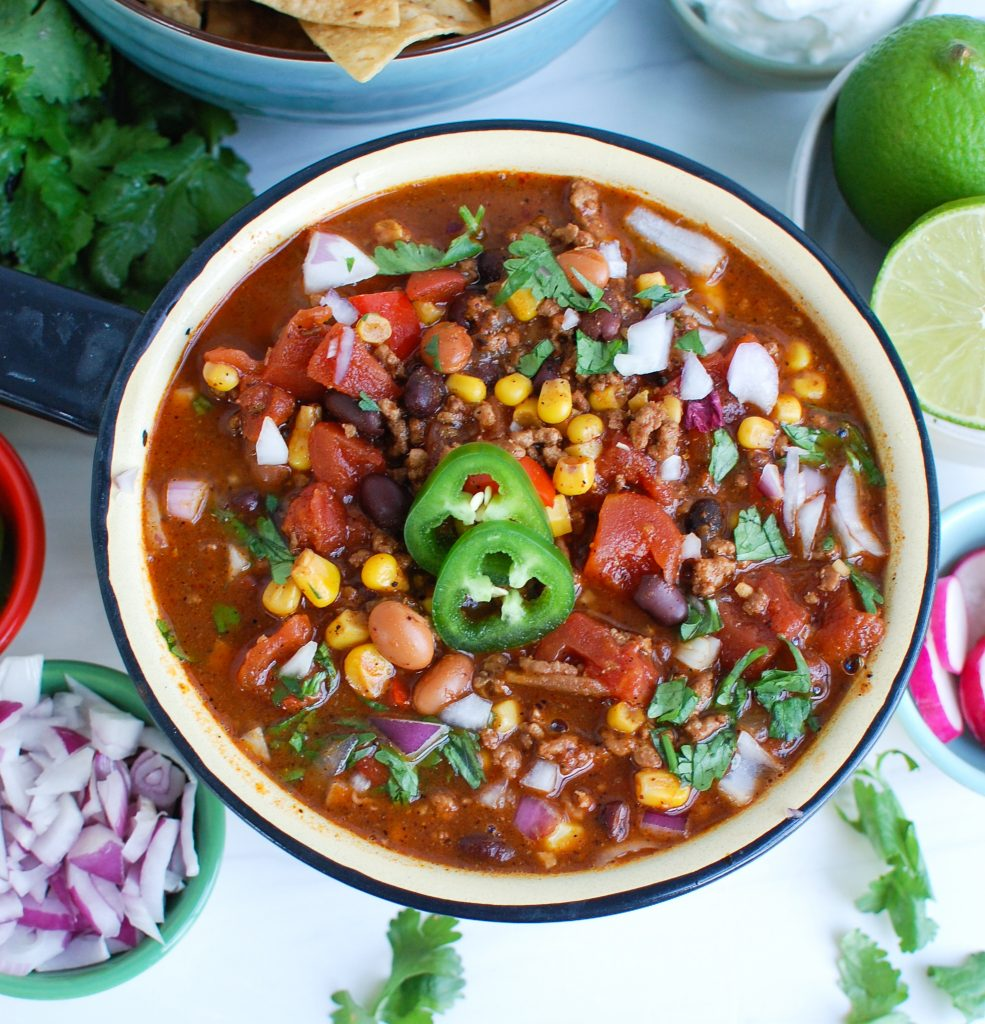 Easy Pork Chili above