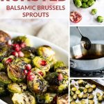 Roasted Balsamic Brussels Sprouts collage