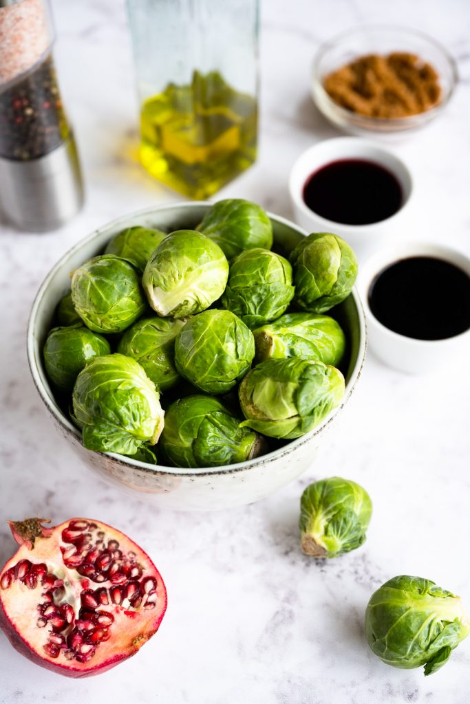 Roasted Balsamic Brussels Sprouts ingredients