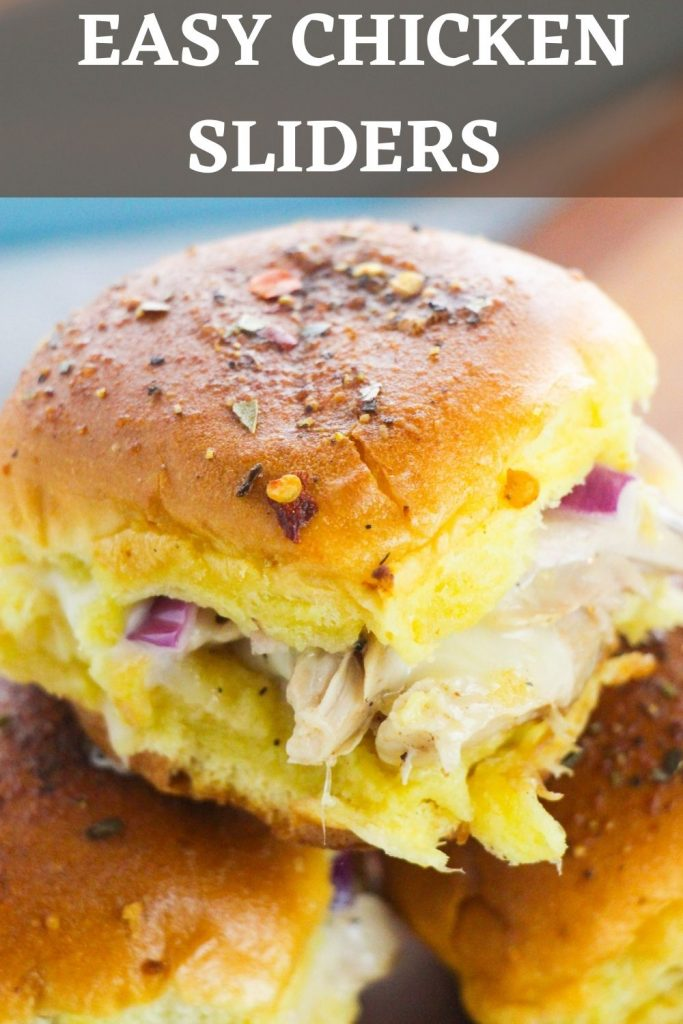 Easy Chicken Sliders with spices