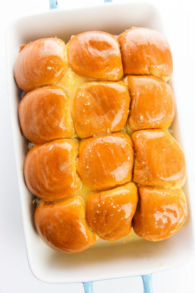 Easy Chicken Sliders buns