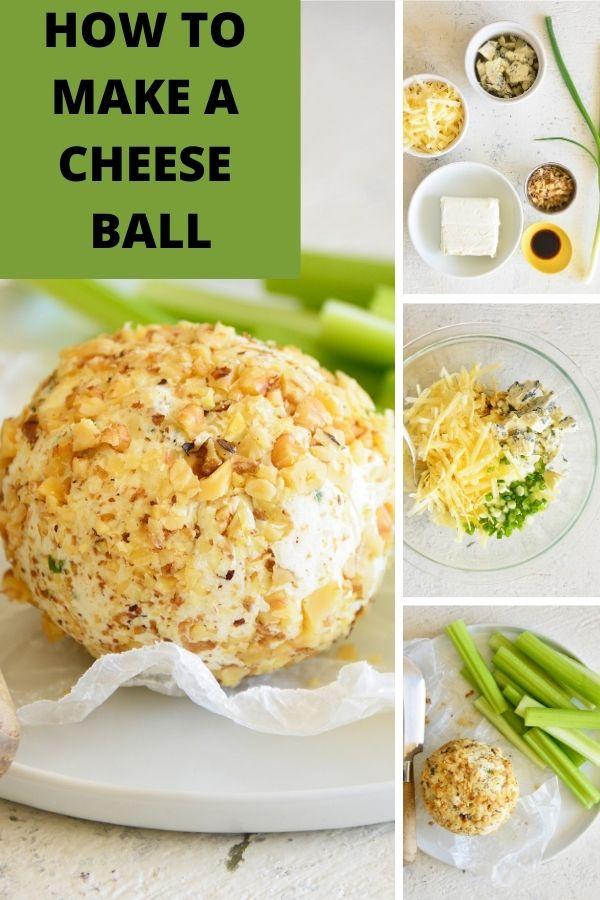 How to Make a Cheese Ball logo