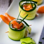 Smoked Salmon Cucumber Appetizer Bites