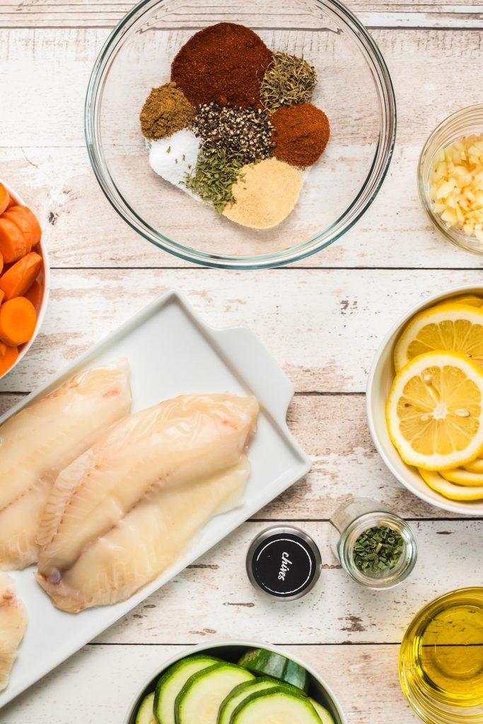 Easy Blackened Fish ingredients