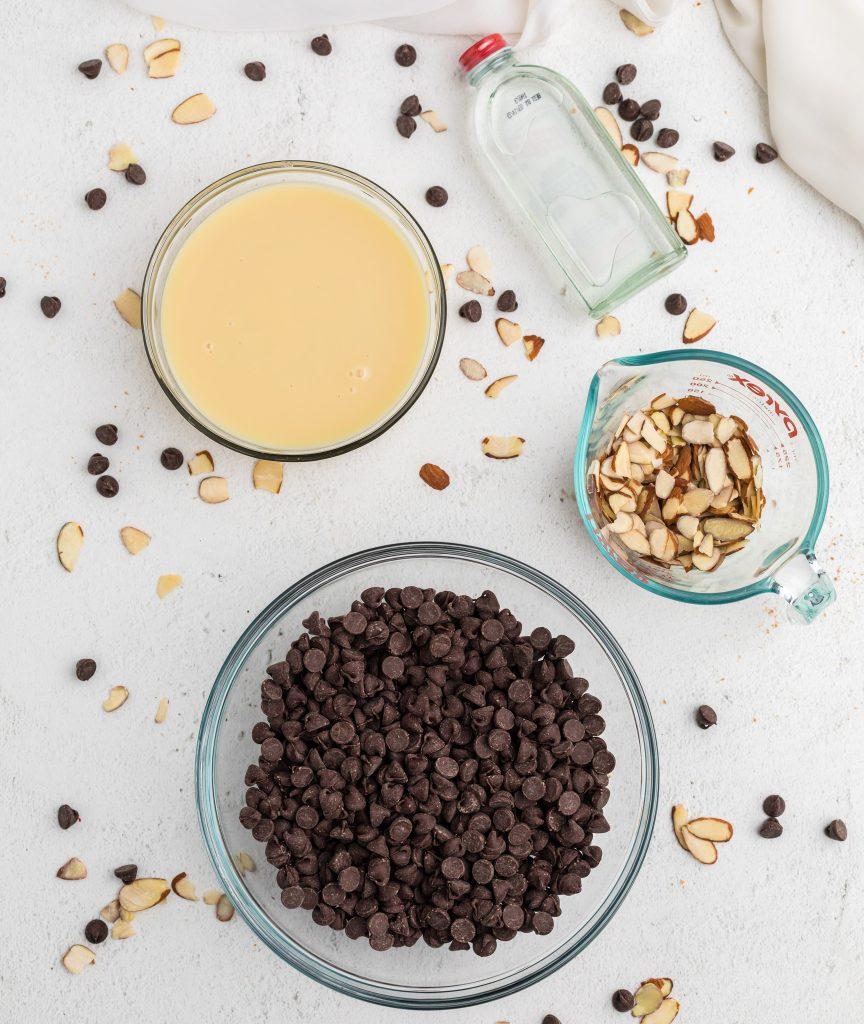Easy Chocolate Fudge ingredients