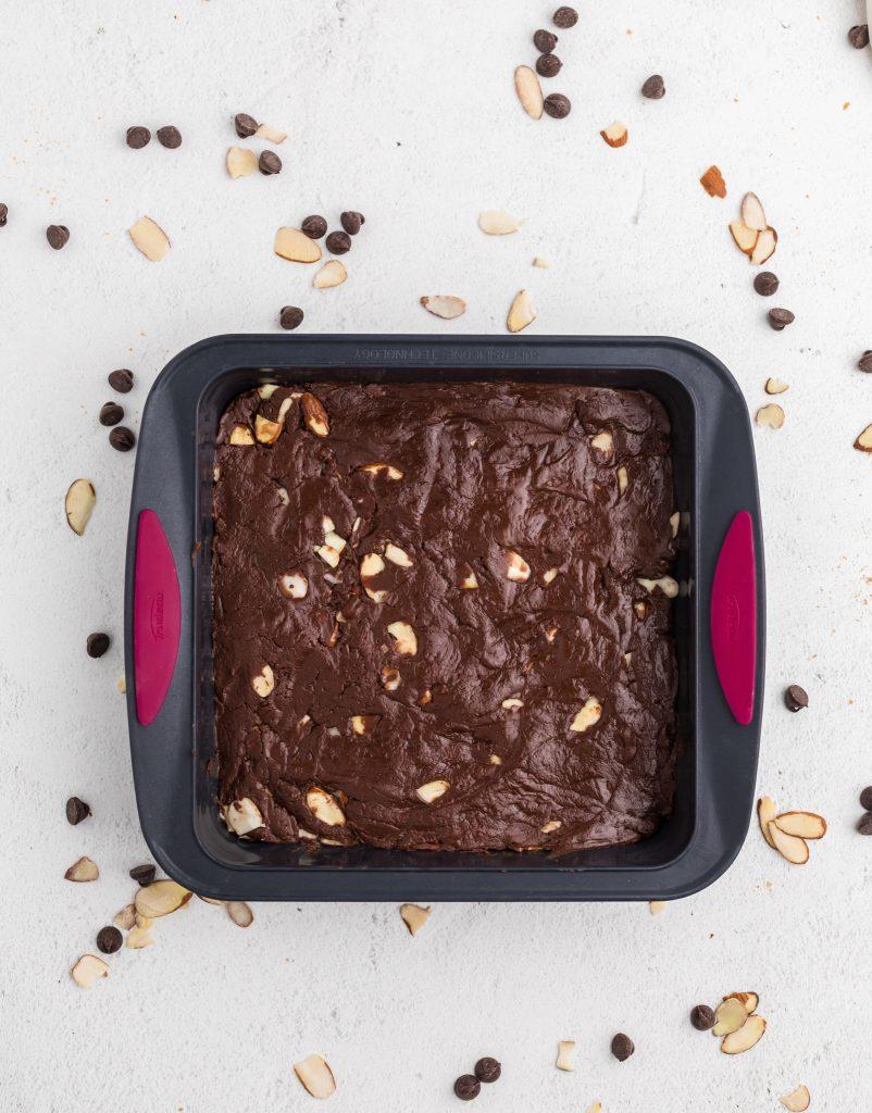 Easy Chocolate Fudge in pan