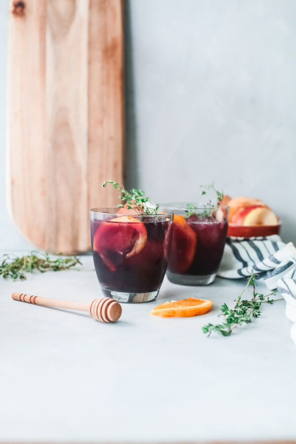 The Best Red Sangria Recipe with citrus