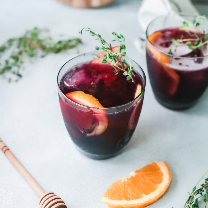 The Best Red Sangria Recipe in cups