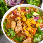 Green Chili Chicken Soup