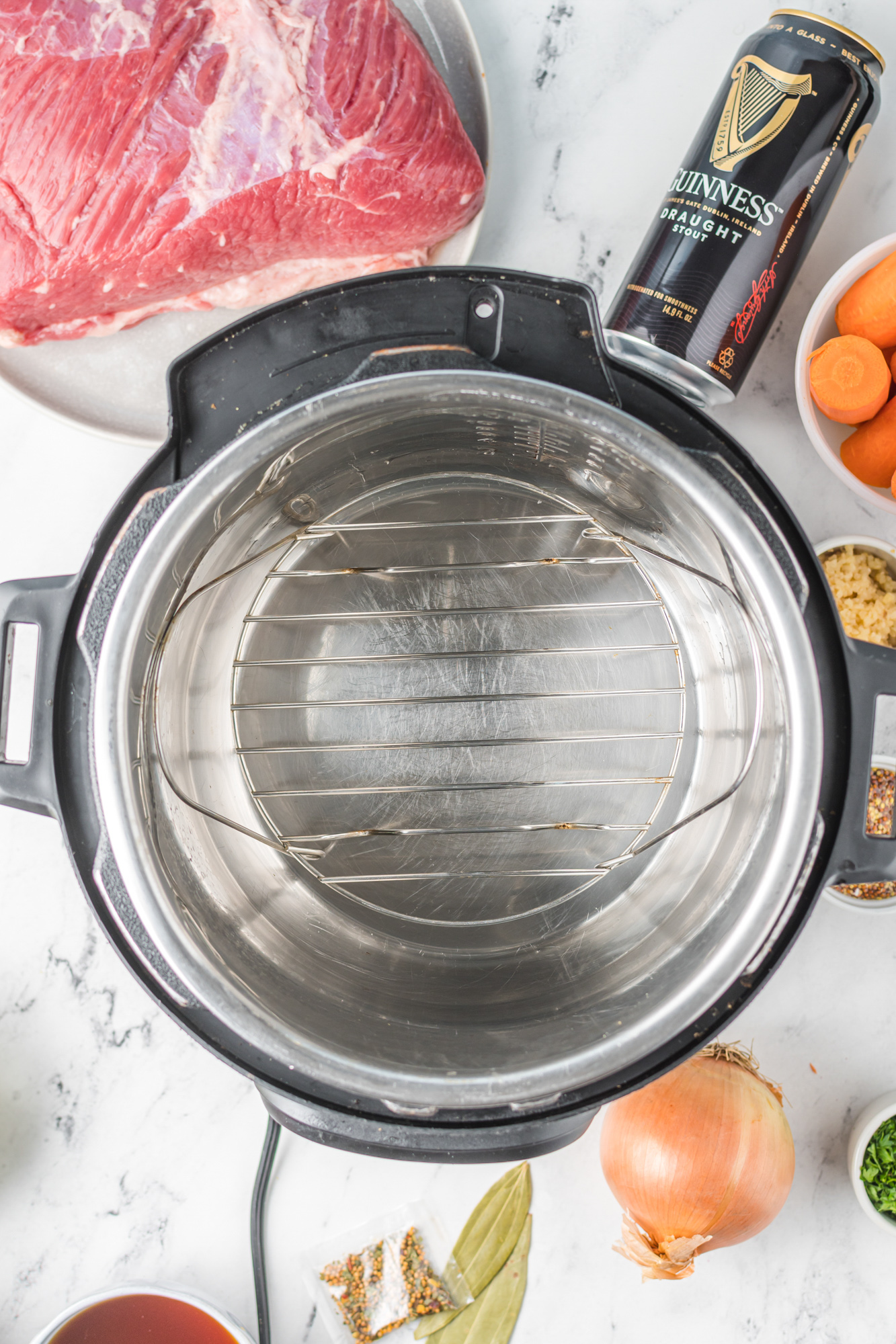 Instant Pot Corned Beef and Cabbage trivet