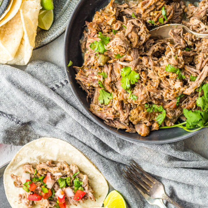 Instant Pot Pork Roast with tacos