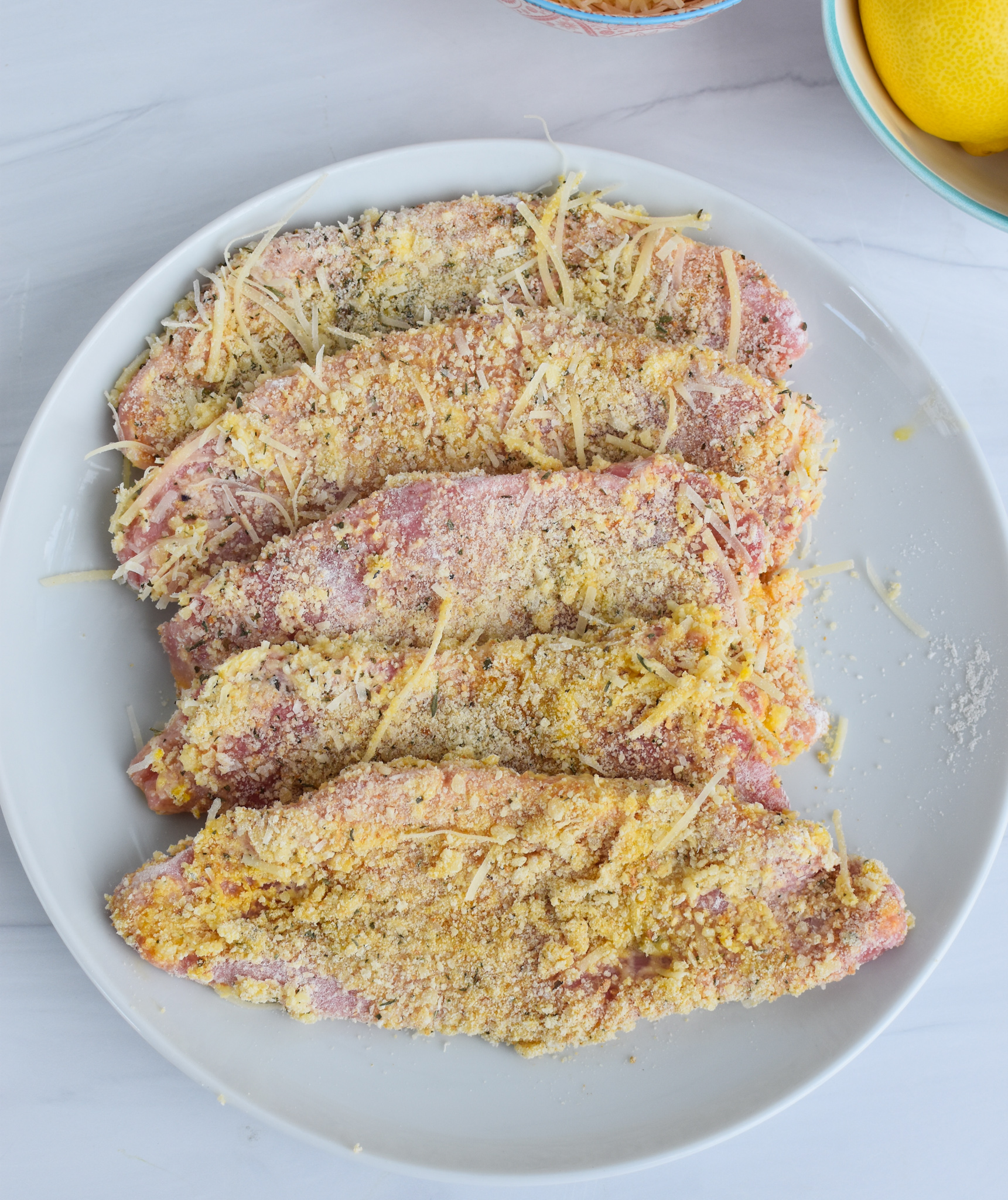 Easy Veal Milanese Recipe with breadcrumbs.