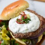Easy Greek Burger Recipe