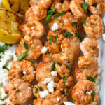 Mediterranean Grilled Shrimp Skewers