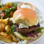 Easy Blue Cheese Burger