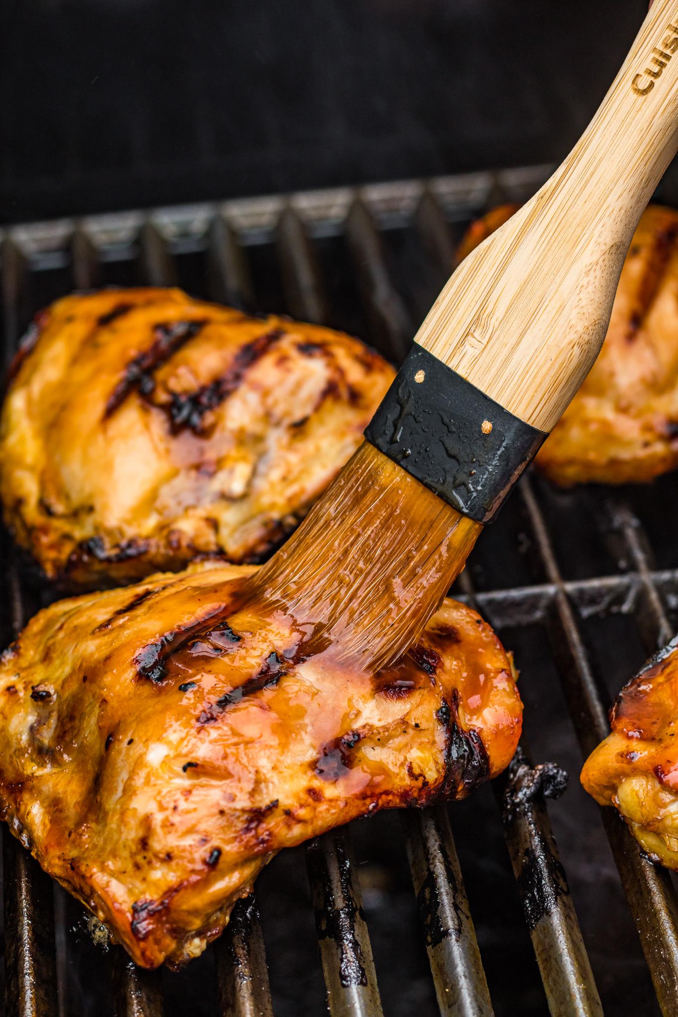 Grilled Huli Huli Chicken basting brush.
