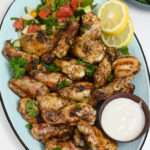 Grilled Mediterranean Chicken Wings