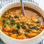 Lentil Sweet Potato Stew Recipe