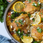 One Pot Mediterranean Chicken and Rice